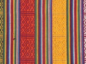 Handmade Nepalese fabric covered book